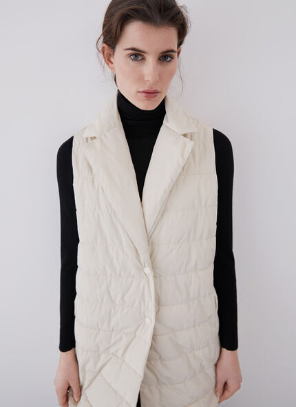 LONG PADDED VEST