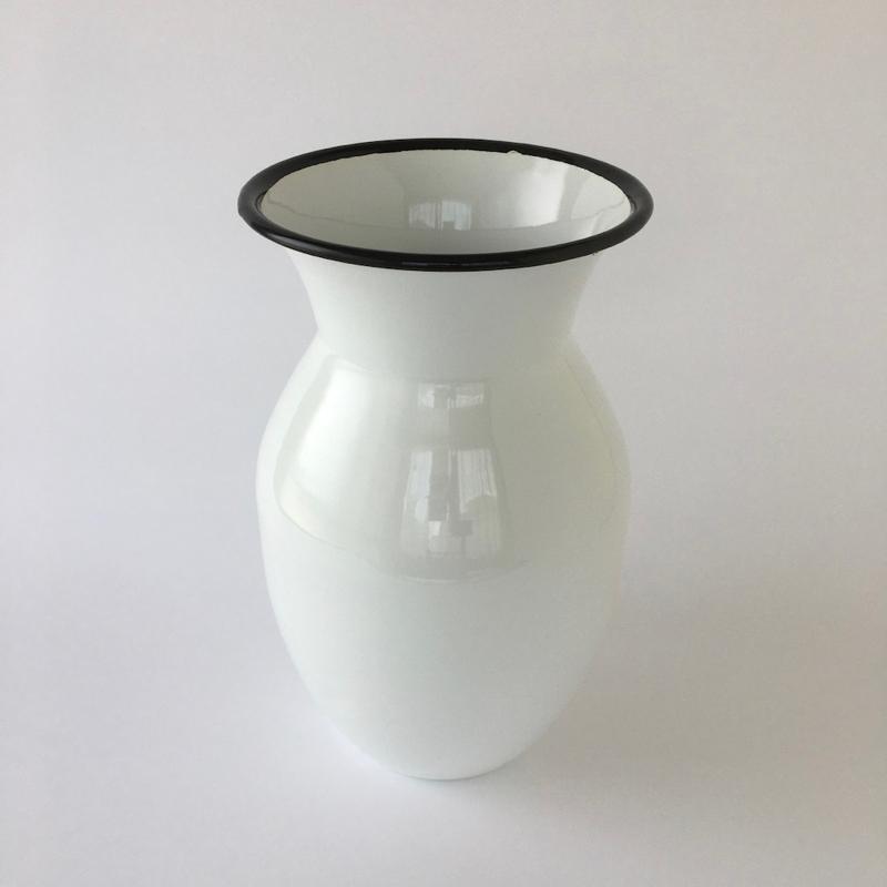 Enamel Vase|ホーローのフラワーベース