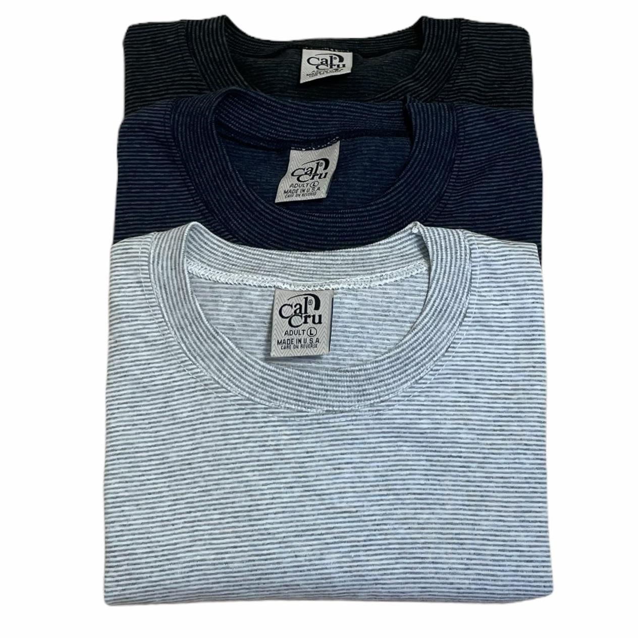 CalCru MICRO BORDER T-Shirt S/S made in USA