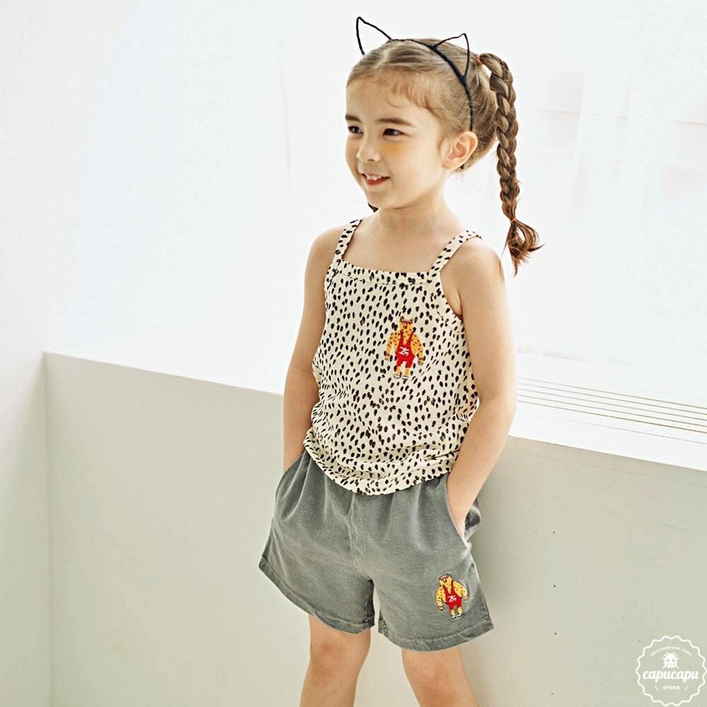 «sold out» Cheetah T shirts チータータンクトップ