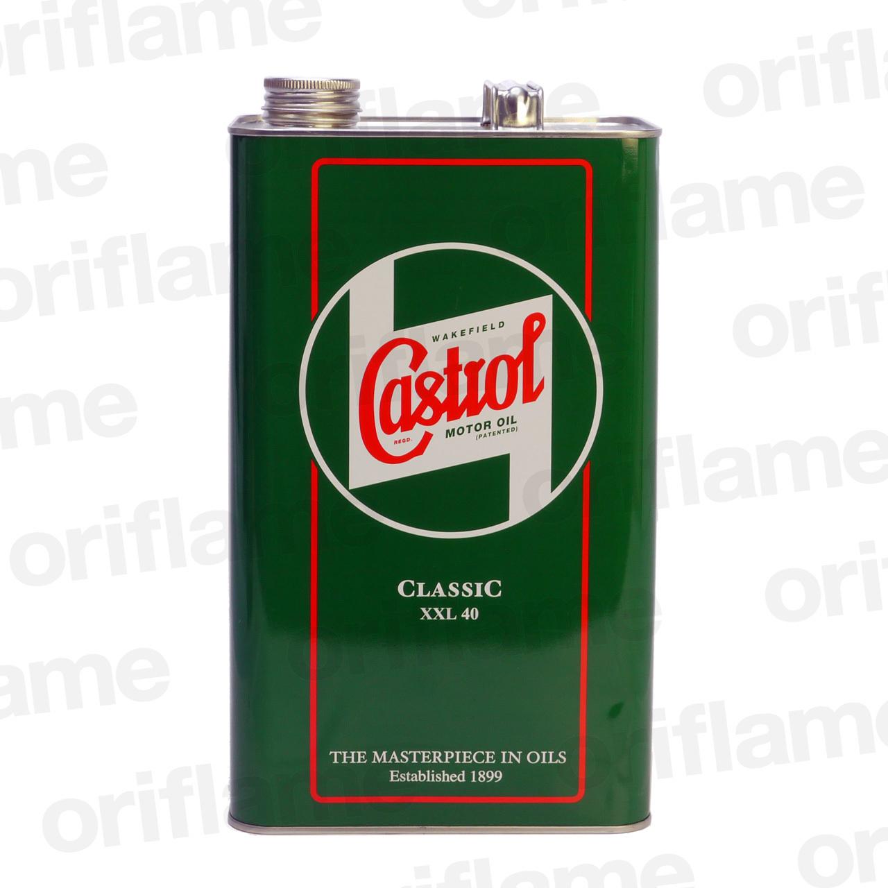 Castrol・カストロール・クラシック・オイル XXL 40  5L 鉱物油