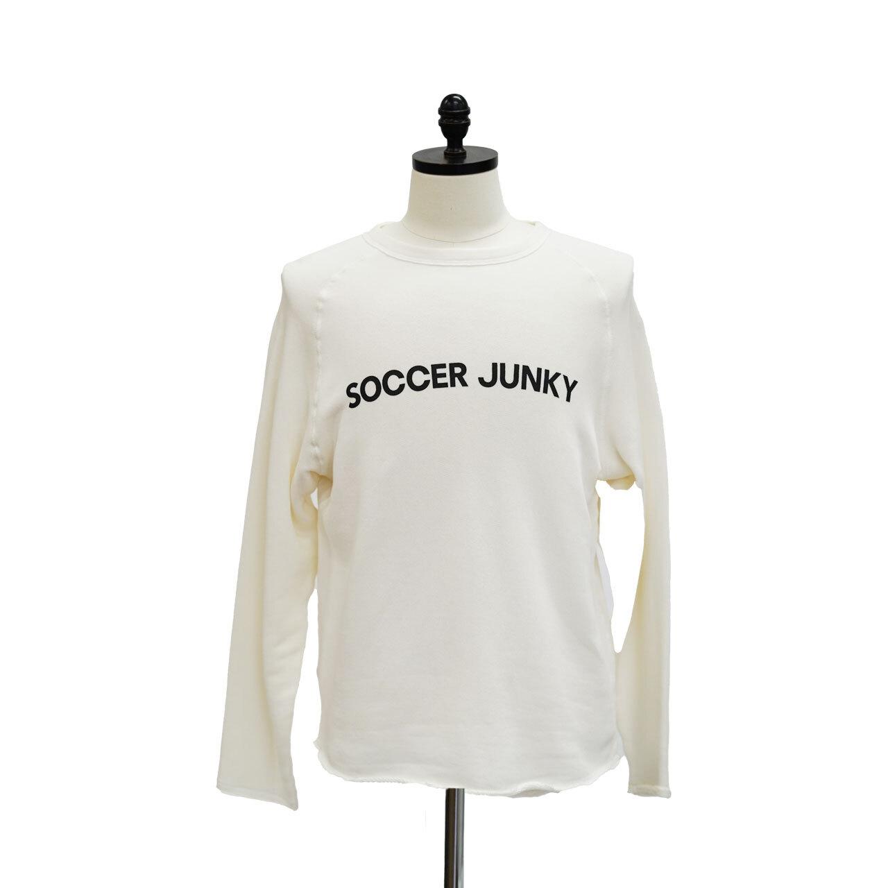 soccer junky  カットオフクルースウェット(SJ18172)