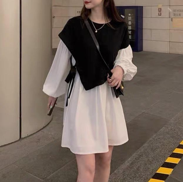 rétro knit docking dress