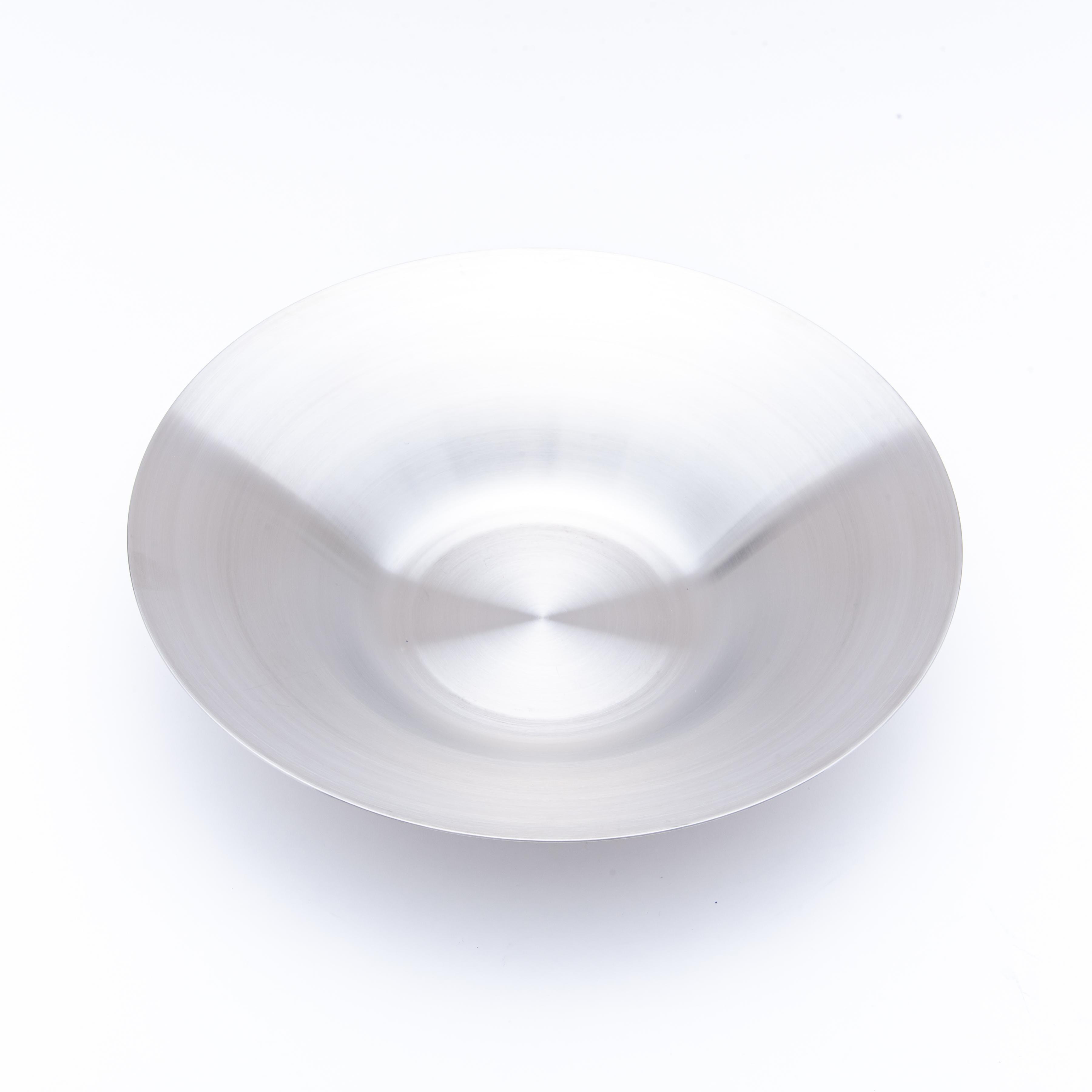 韓国ステンレス食器/パスタ皿/(2号)【直径22.4㎝/高さ4.7㎝】