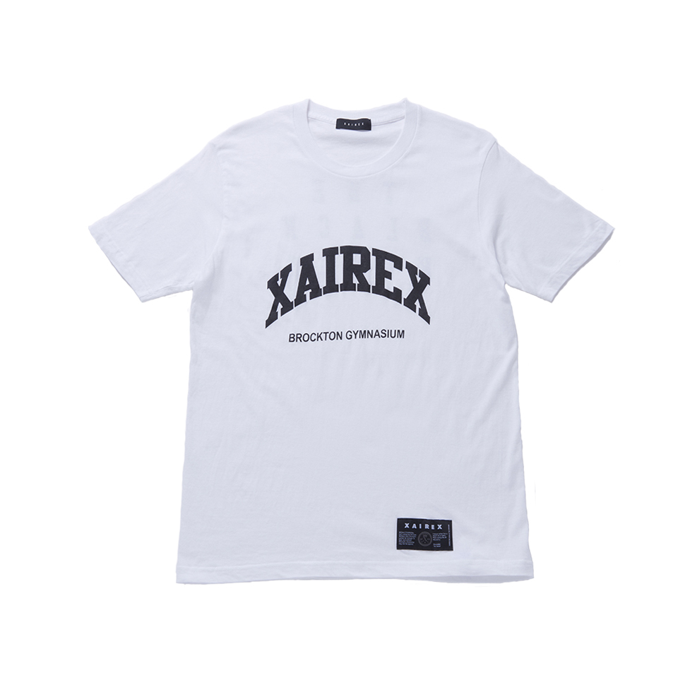 XAIREX / BROCKTON TEE(BLACK)