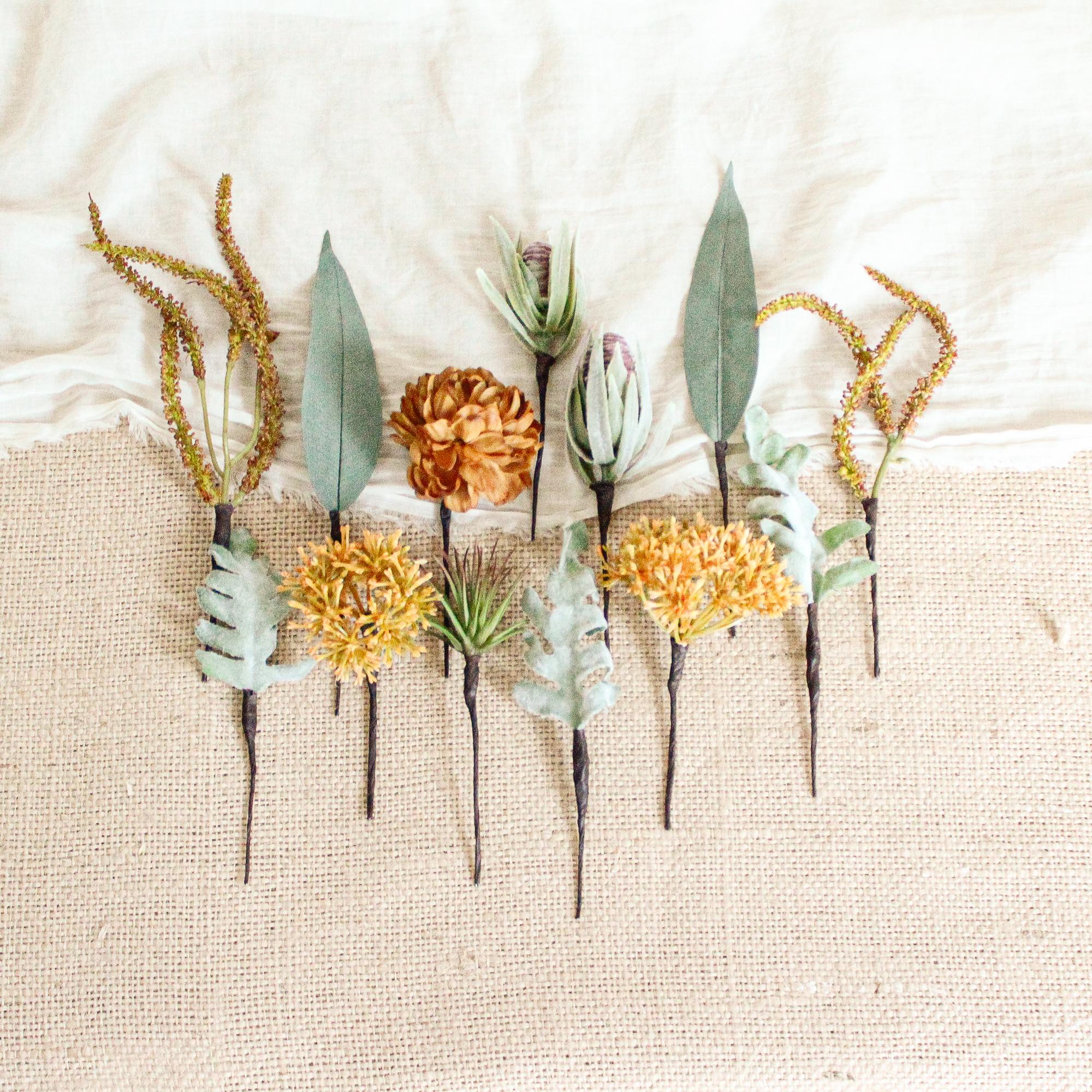 """Hair parts for """"Cactus botanical Bouquet"""""""