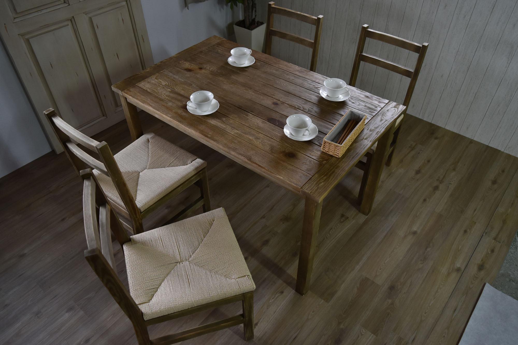Old Pine Dining Table / アンティークカントリースタイル オールドパイン ダイニングテーブル