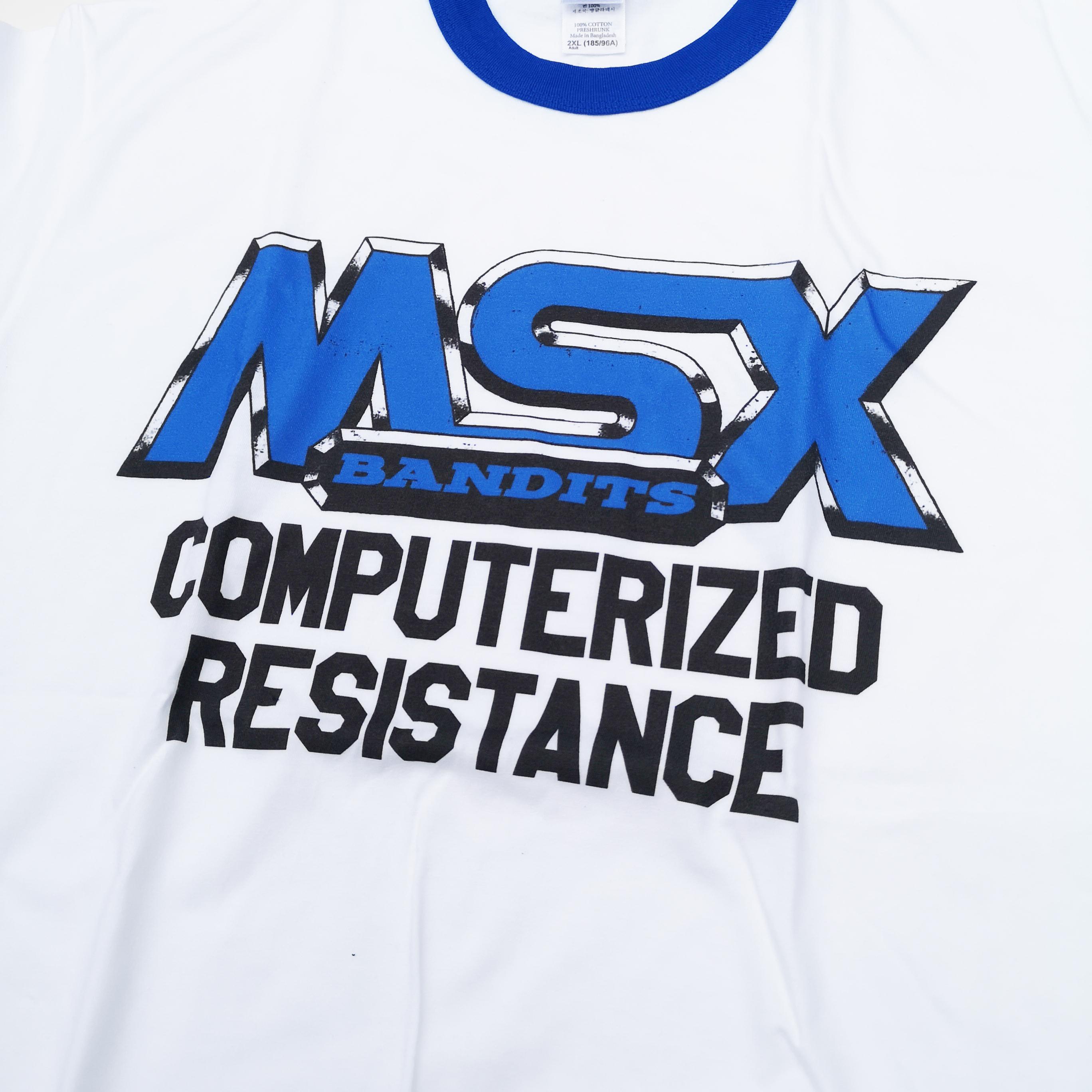 MSX BANDITS RINGER TEE