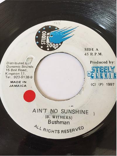 Bush Man(ブッシュマン) - Ain't No Sunshine【7'】