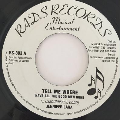 Jennifer Lara(ジェニファーララ) - Tell Me Where【7'】