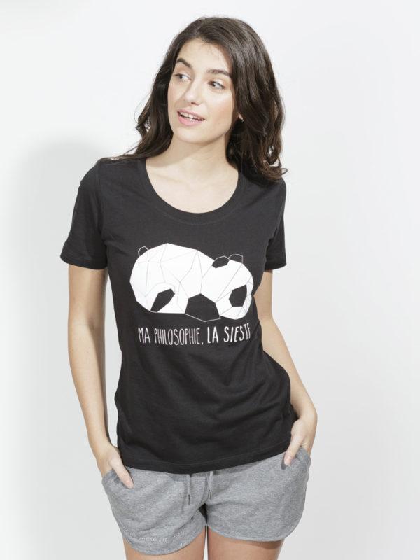 フランス製Tシャツ『SIESTE NOIR』