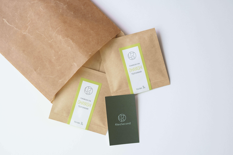 深蒸し茶 ティーバッグ3g(8個入) 御林茶業組合
