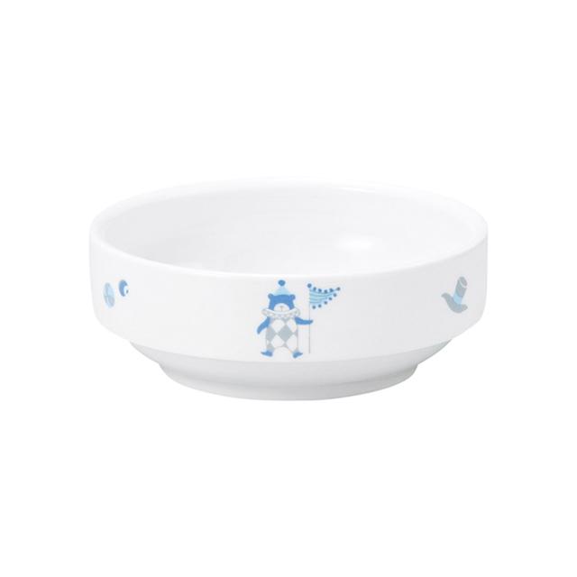 強化磁器 11.5cm すくいやすい小鉢 シルク【1712-1300】