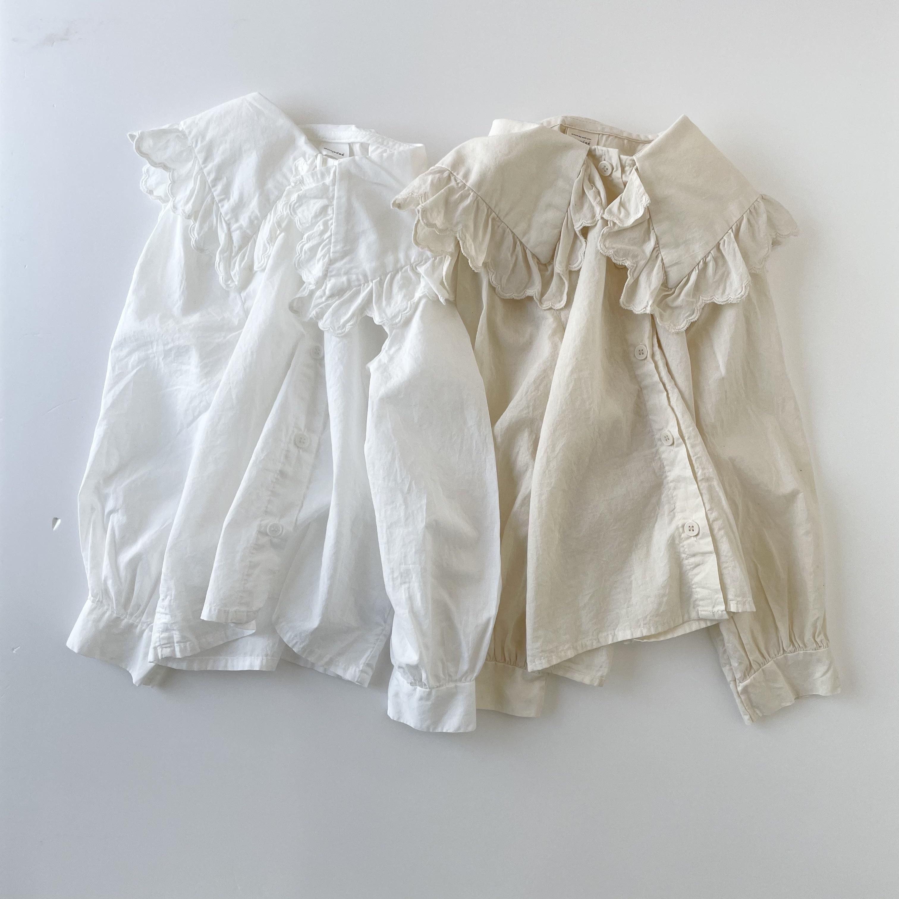 NO.1286  romantic blouse