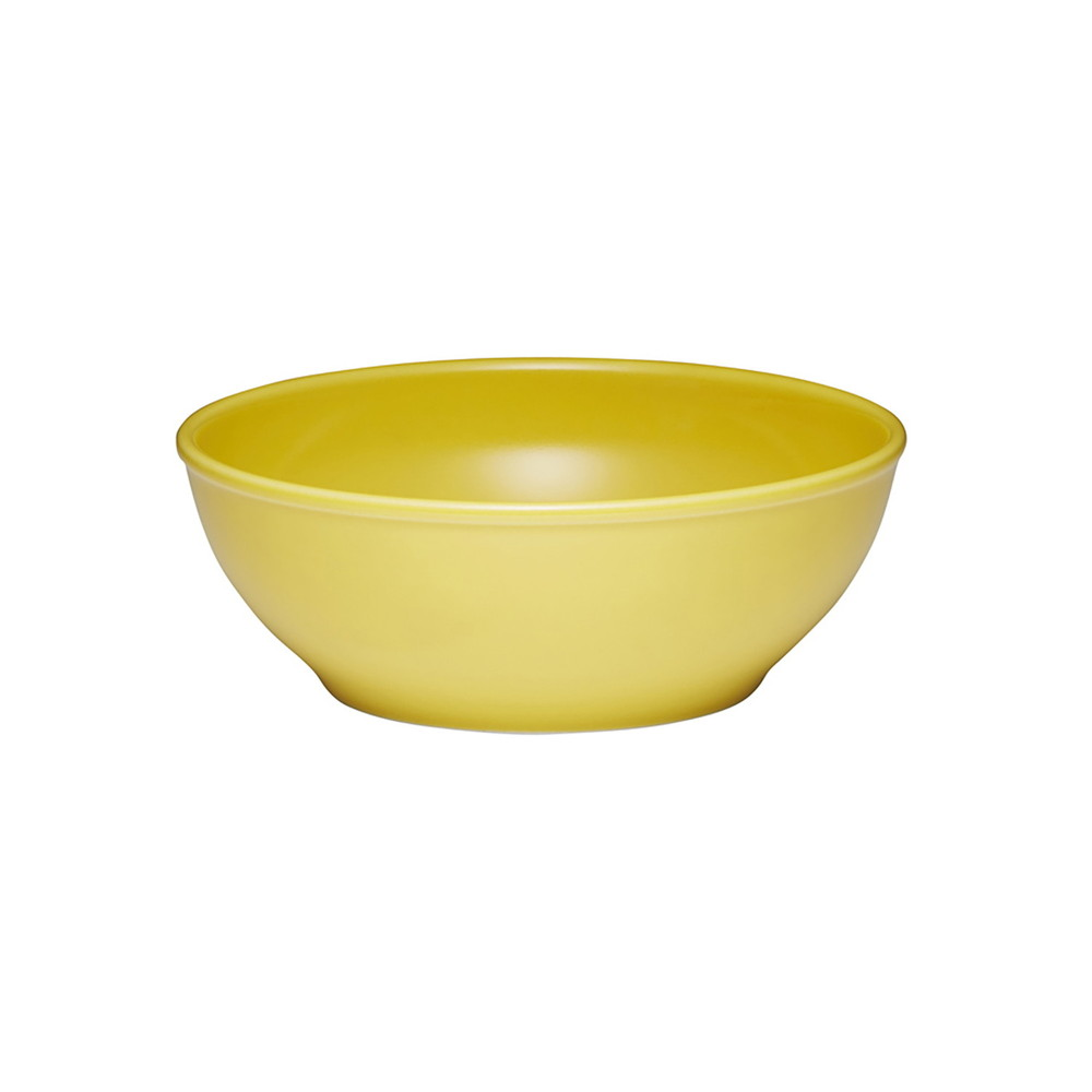 西海陶器 波佐見焼 「コモン」 ボウル 皿 150mm イエロー 13228