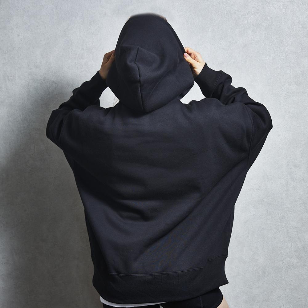 XAIREX LOGO HOODIE(BLACK)[XAI-0008]