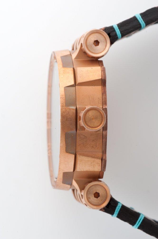 【VOSTOK EUROPE ボストークヨーロッパ】ENERGIA Open Heart/エネルギア オープンハート(ブロンズ)/国内正規品 腕時計