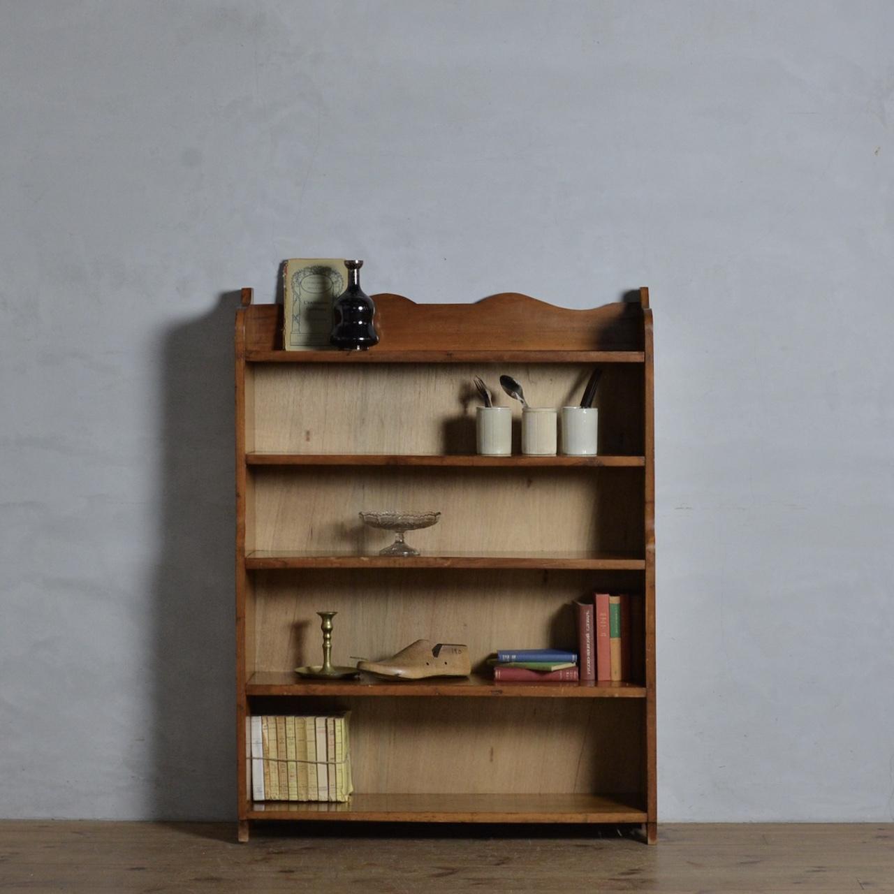 Open Book Case  / オープン ブック ケース 〈シェルフ・本棚・書棚・飾り棚・収納〉111967