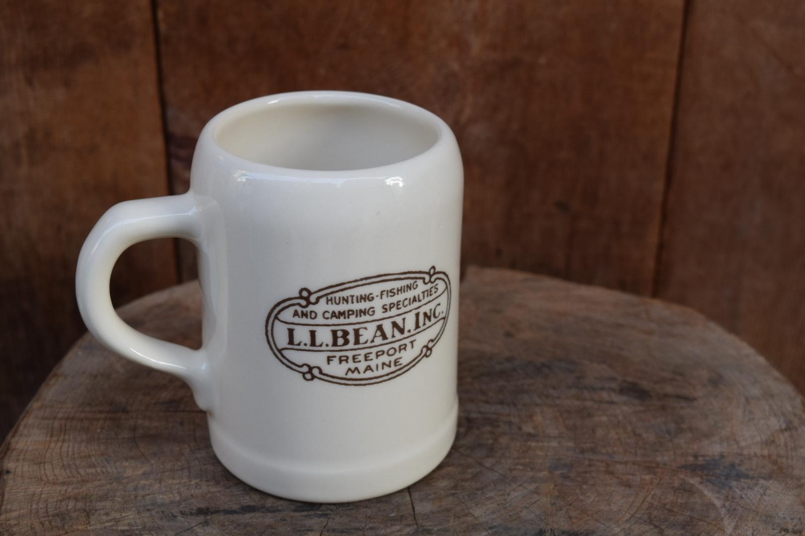 USED 90s L.L.Bean BEER Mug G0787
