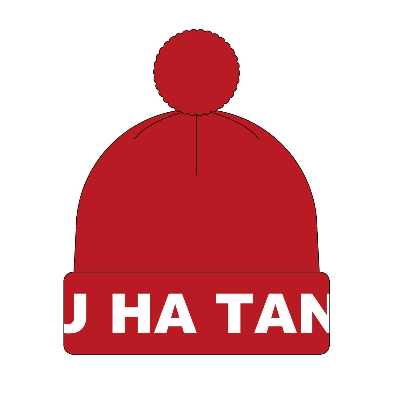 """BOKU HA TANOSII / ボクタノボンボンニット """"Red"""""""