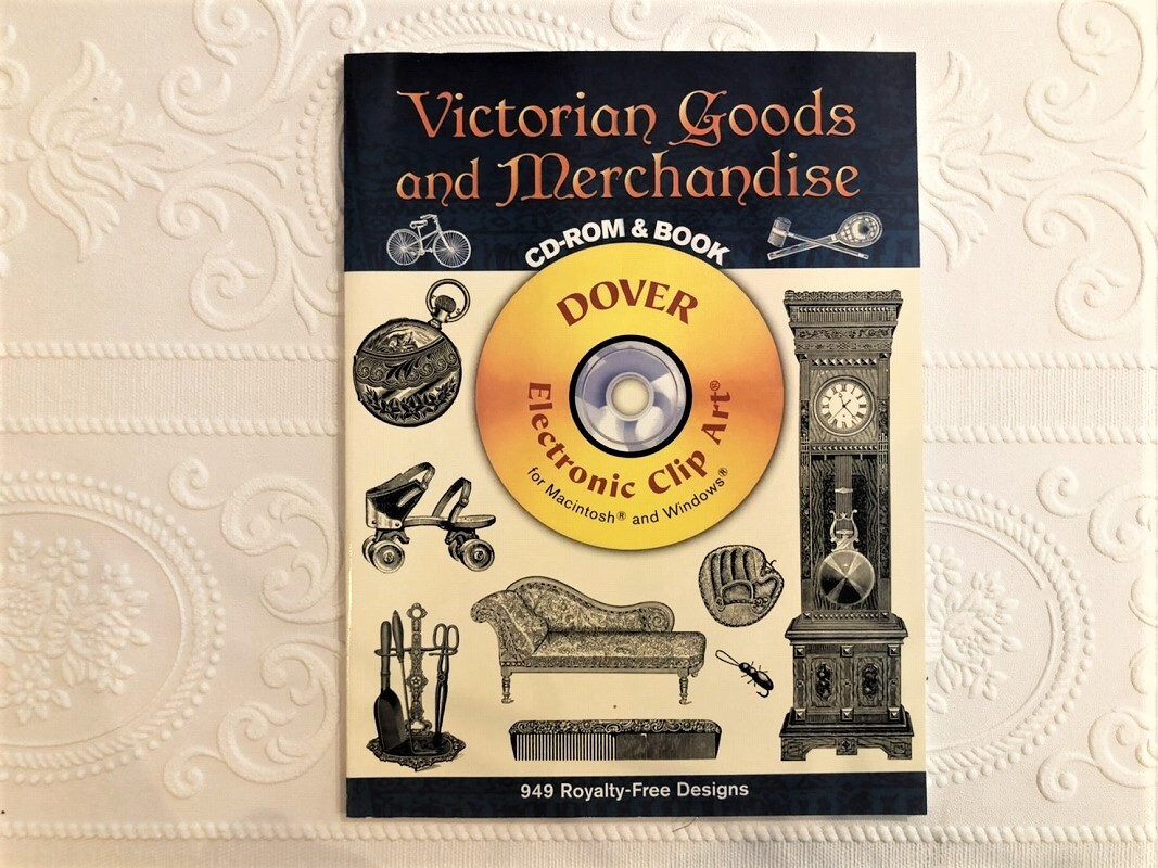 【VA249】Victorian Goods and Merchandise CD-ROM and Book (Dover Electronic Clip Art)  /visual book