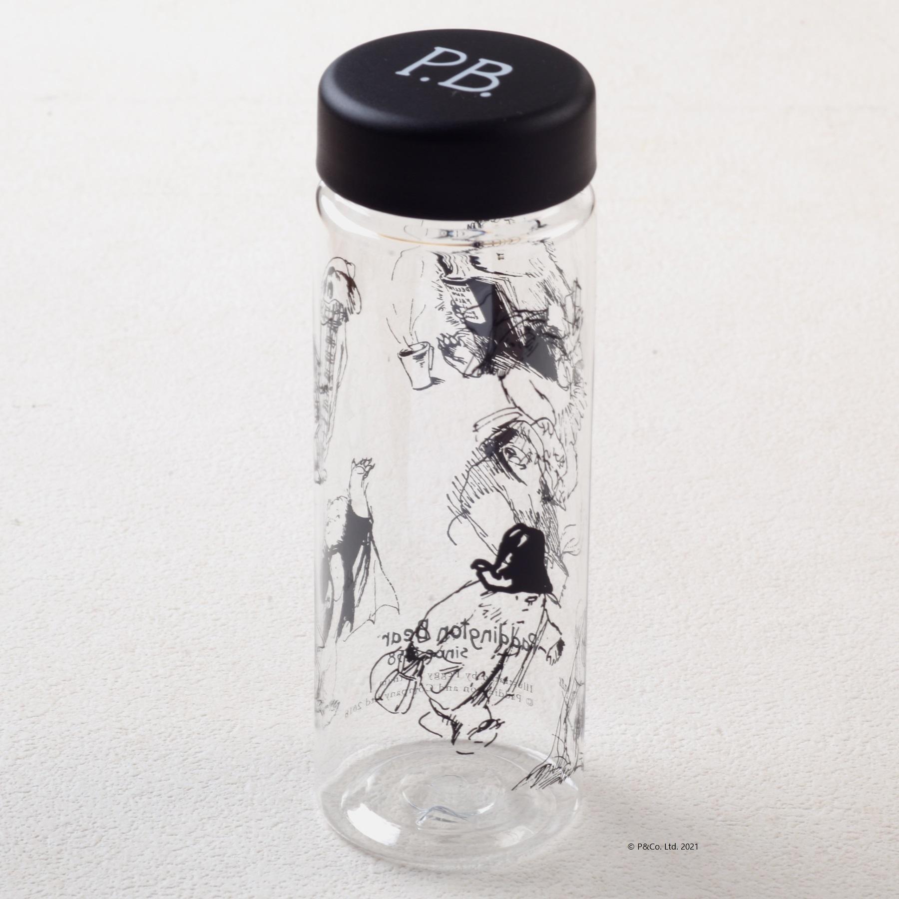 「くまのパディントン™展」展覧会オリジナルのスリムクリアボトル