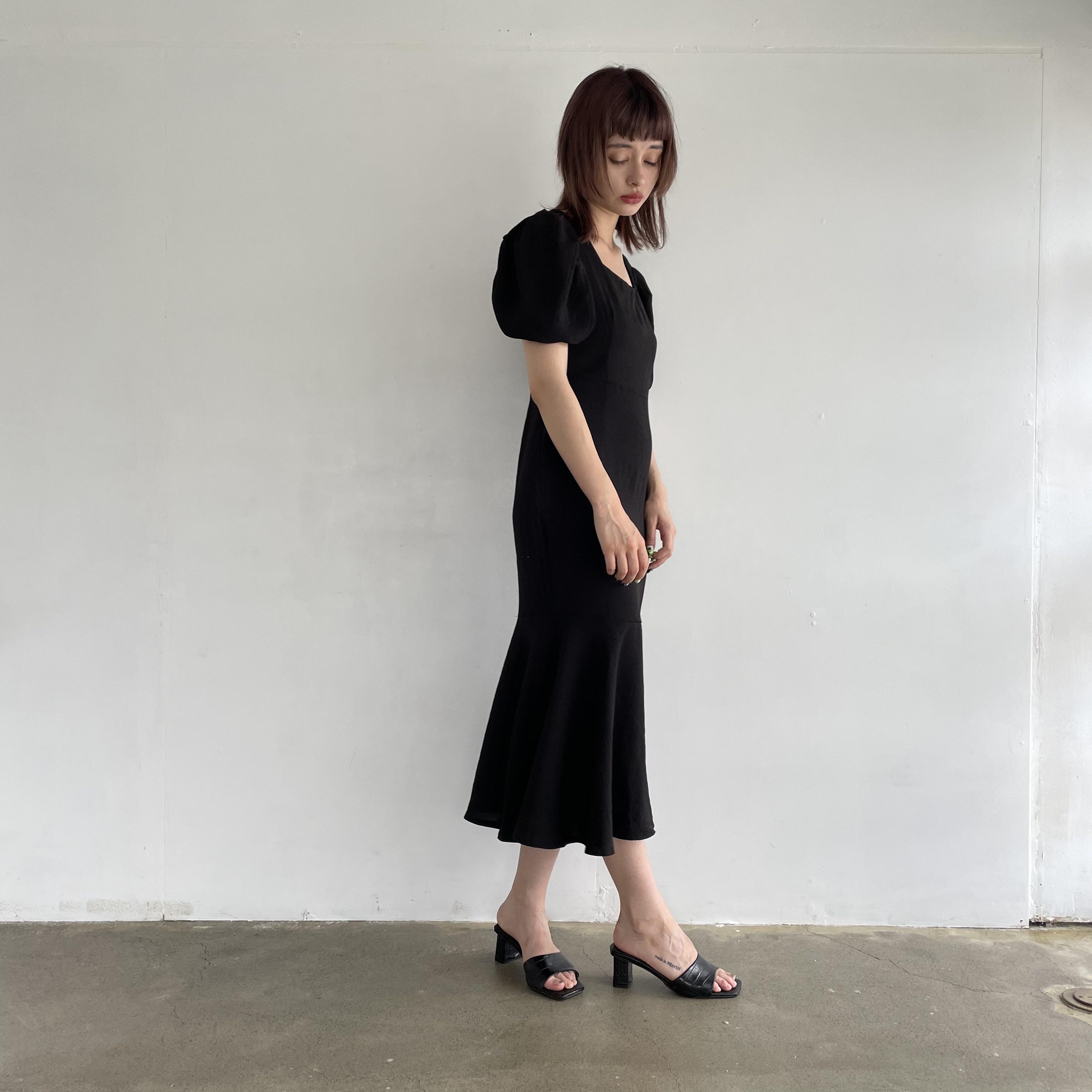 【Belle】attractive black onepiece