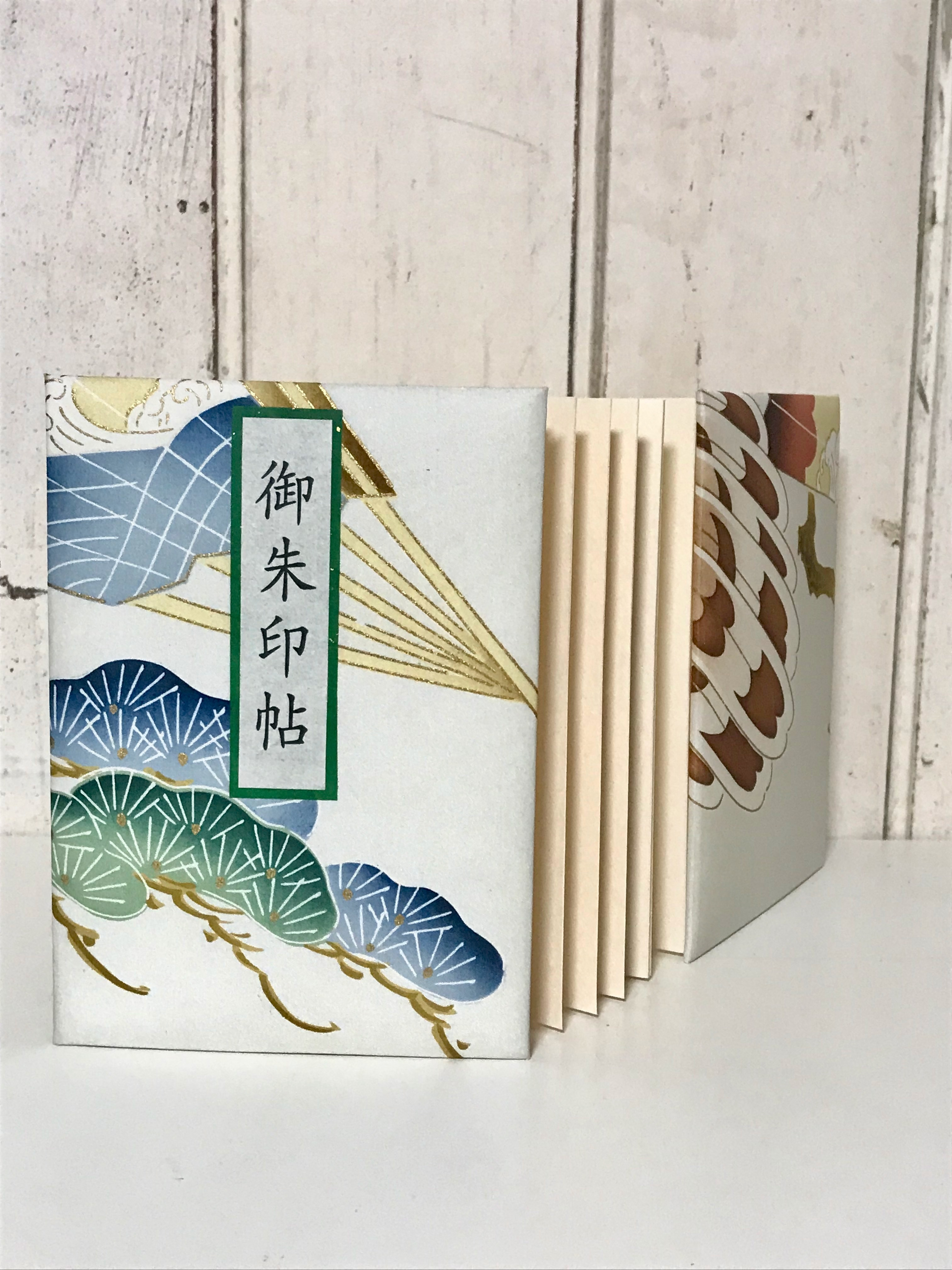 sold out 御朱印帳(松と扇)