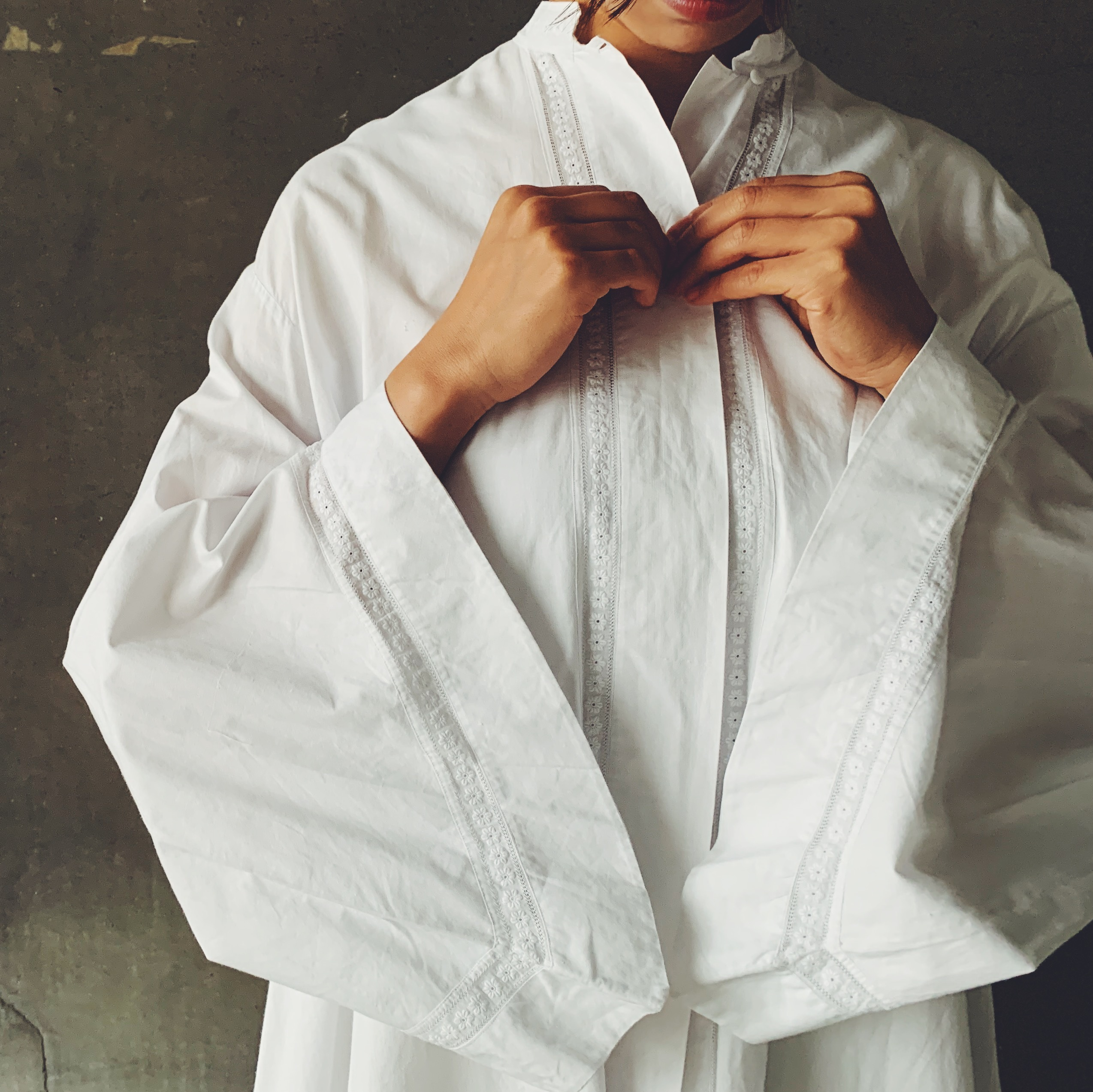 French Bathrobe
