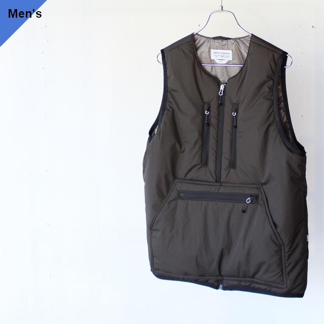 ENDS and MEANS エンズアンドミーンズ Tactical Puff Vest ブラック EM-ST-J02