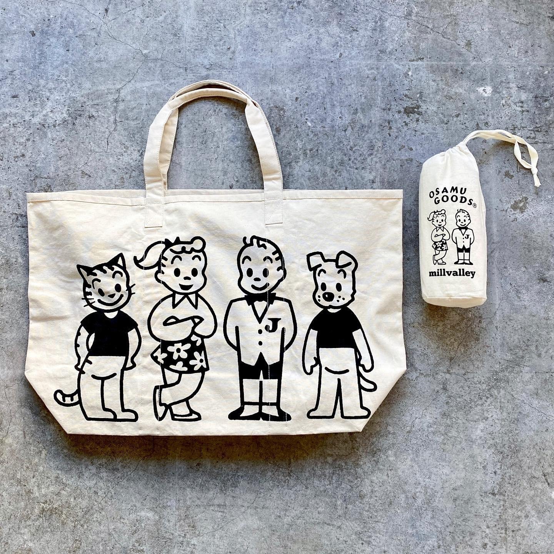 OSAMU GOODS - market bag