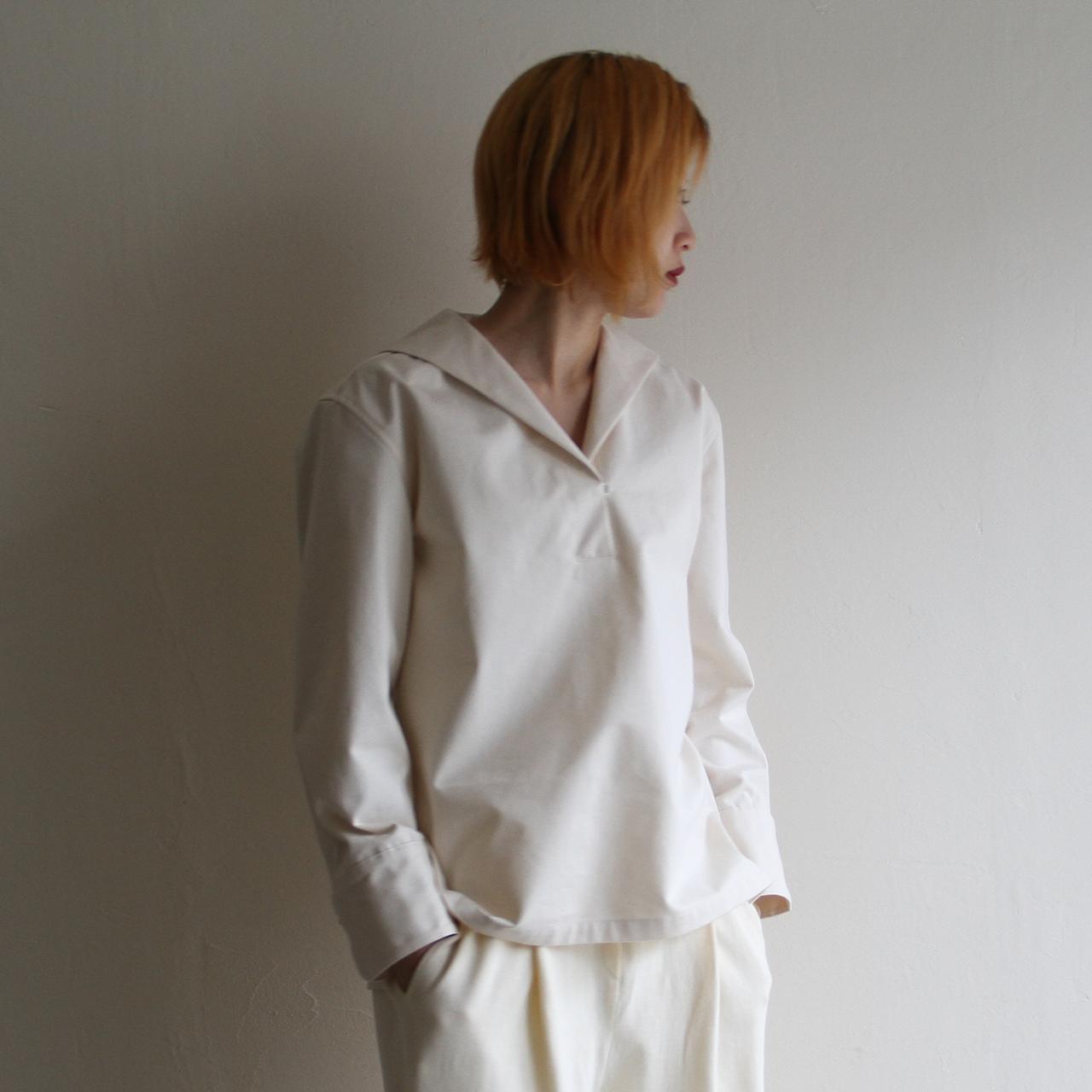 TENNE HANDCRAFTED MODERN【 womens 】sailor collar shirts