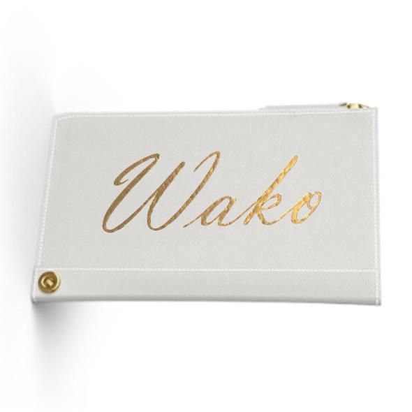 Custom Name Mini Wallet  Premium Smooth Leather (Limited/数量限定9月分)