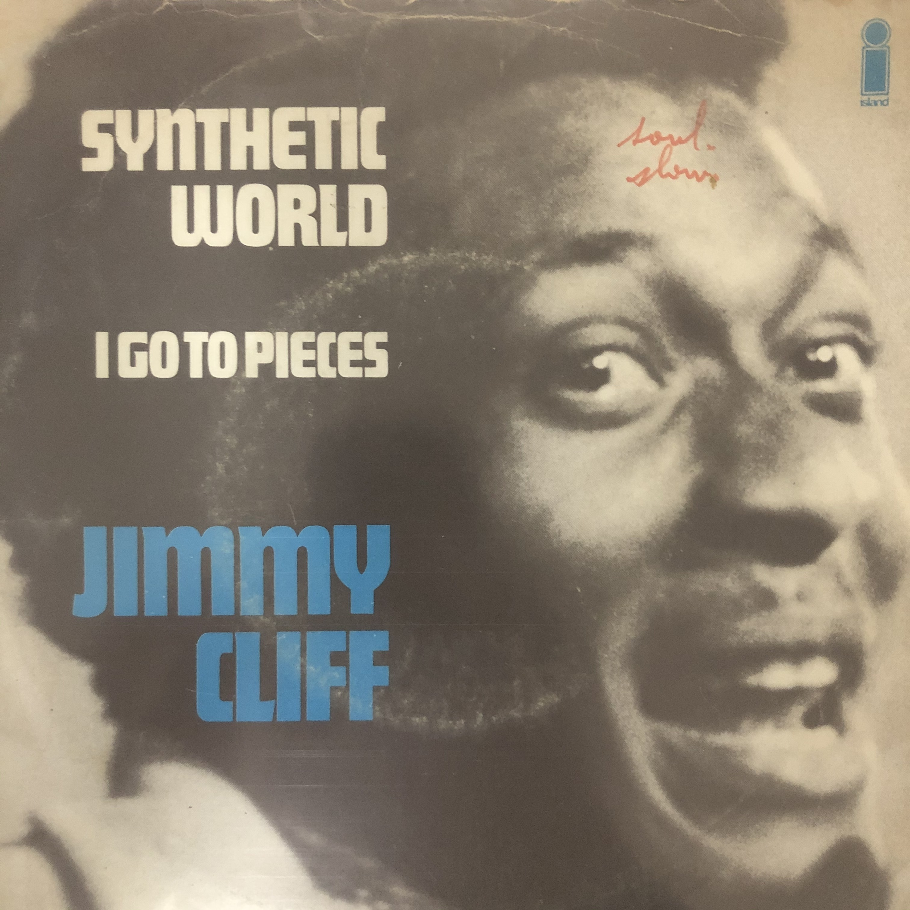 Jimmy Cliff - Synthetic World【7-20582】