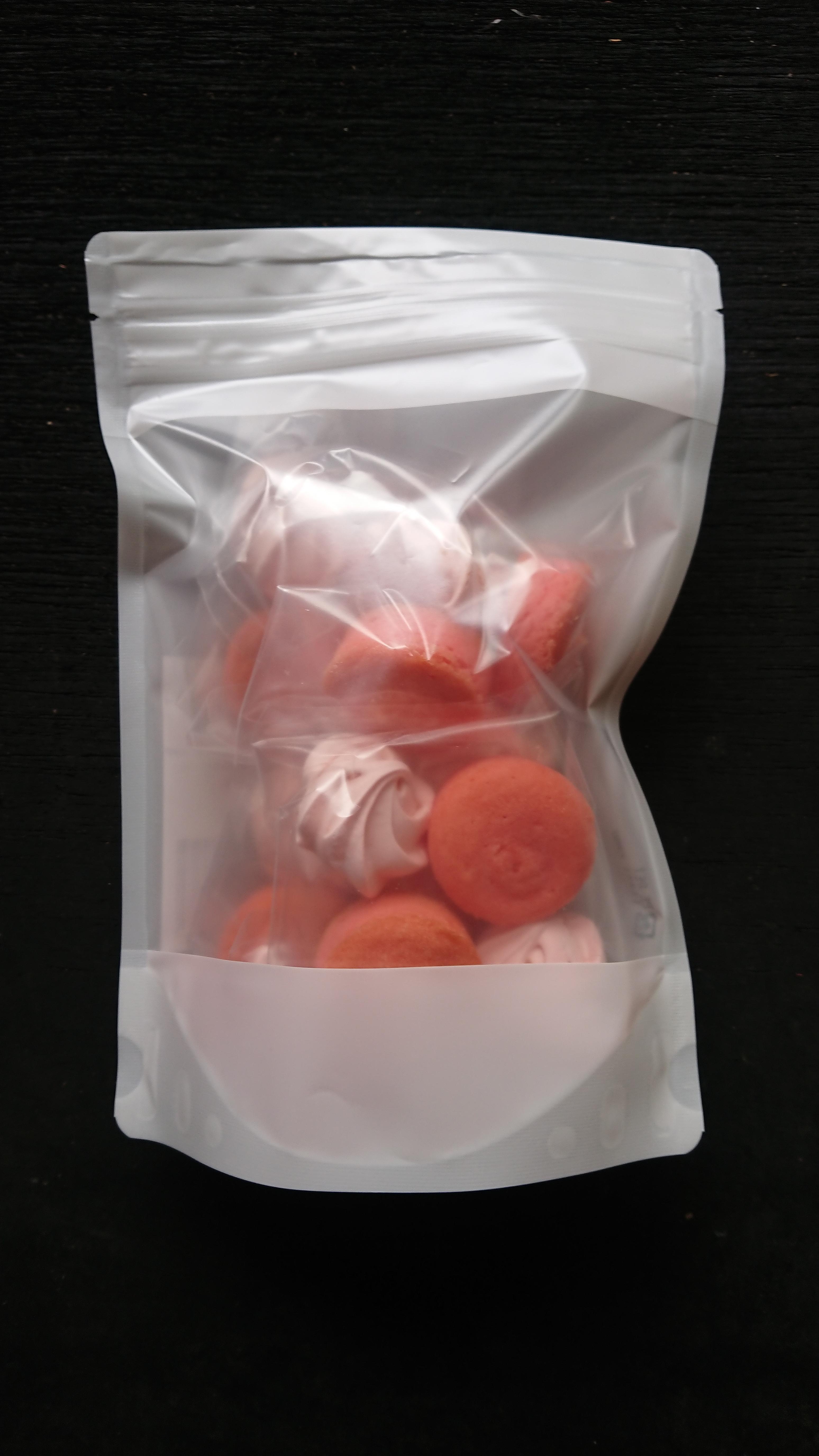 ギフトセット(赤・ピンクミックス花束20本とローズクッキー)