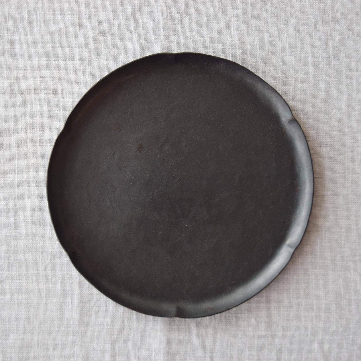 三輪周太郎 Shutaro Miwa  銅製花形皿