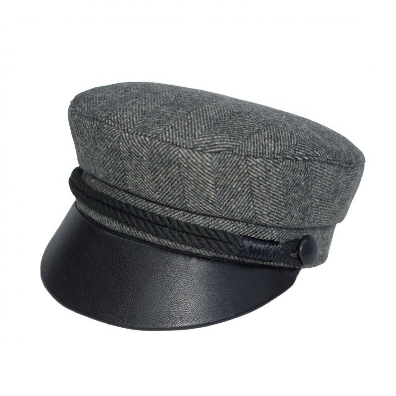 Original John | LIVERPOOL HAT - Tweed Grey [HTLH381]