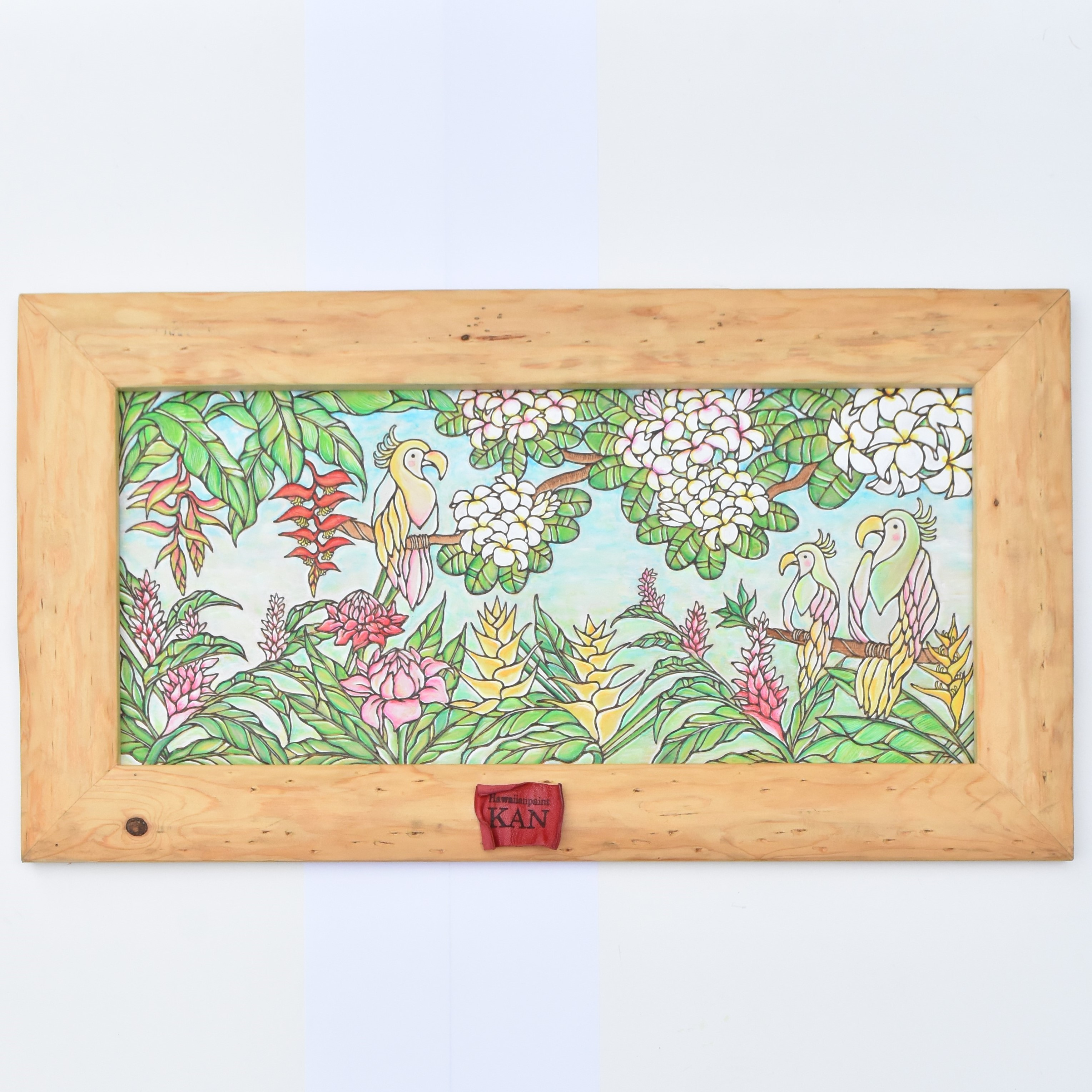 Art  【Tropical flowers and Birds 】