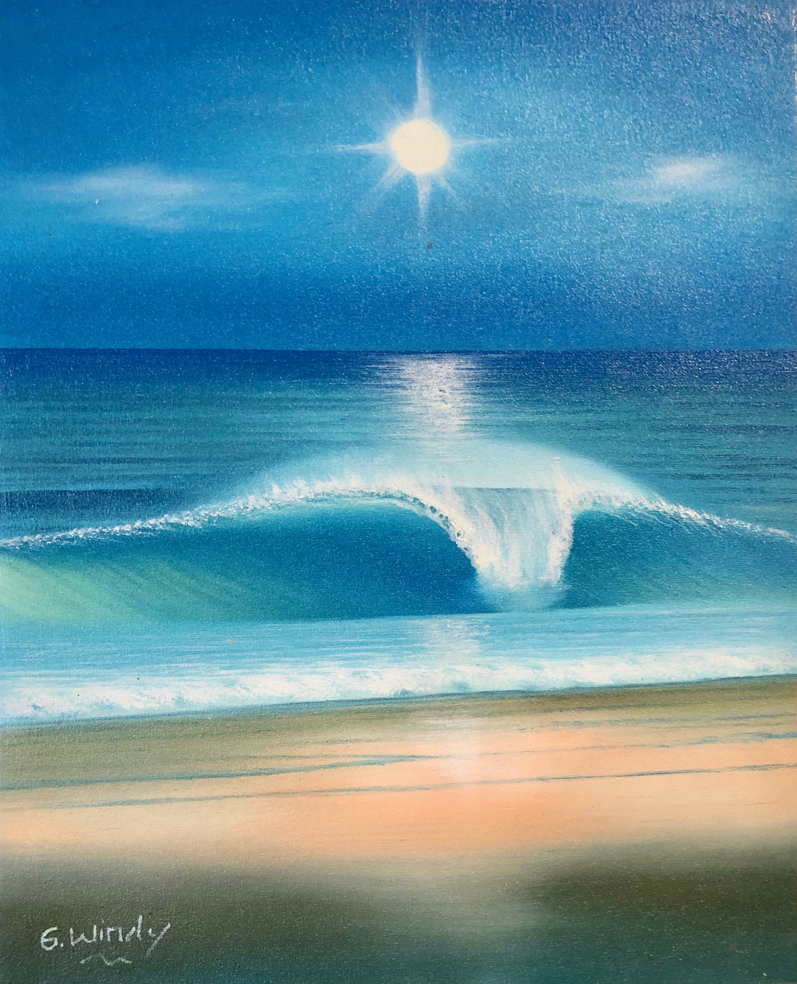 Dreamland Wave Art F3