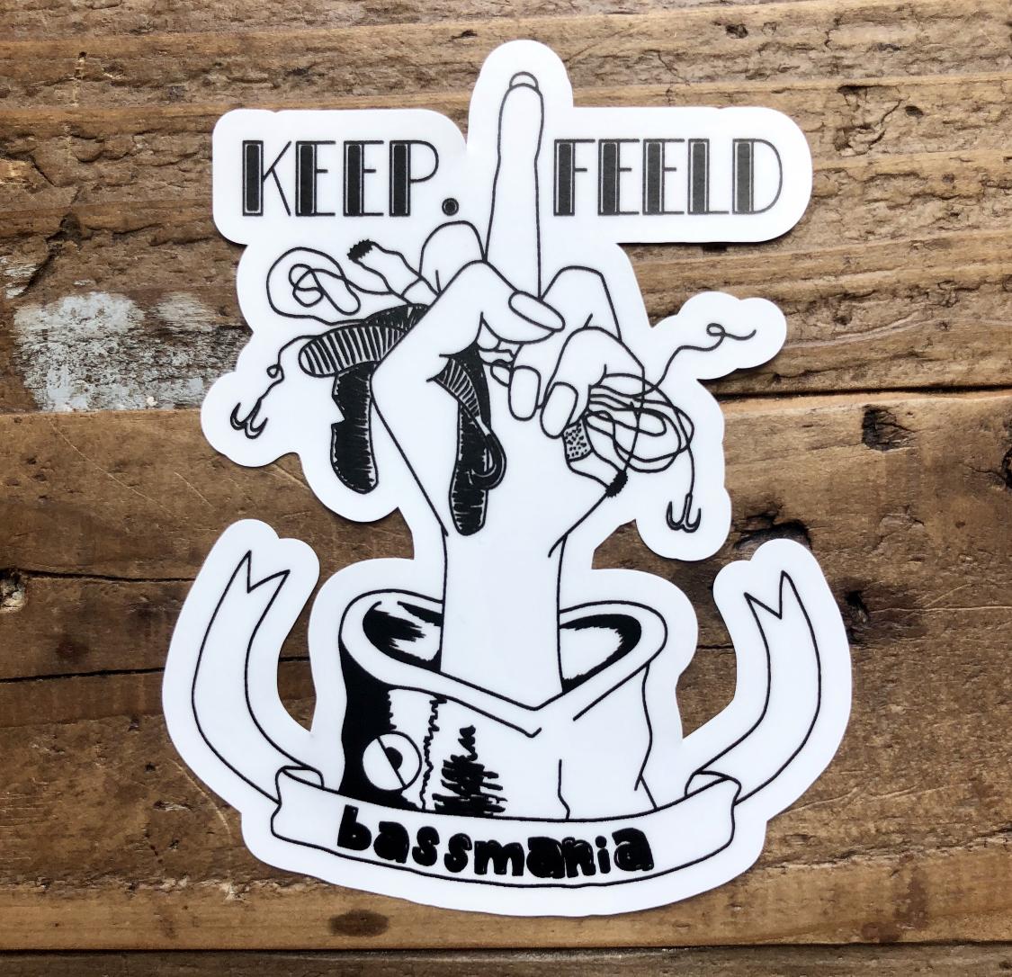 KEEP.FEELDステッカー
