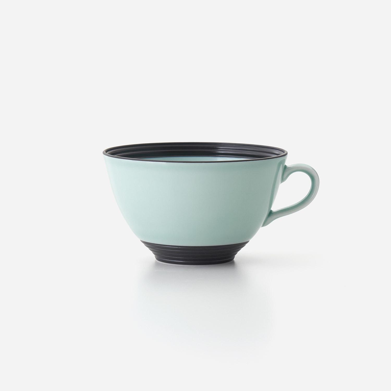 No.128 青磁黒彩 スープカップ