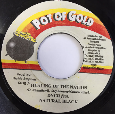 Dycr & Natural Black - Healing Of The Nation【7'】