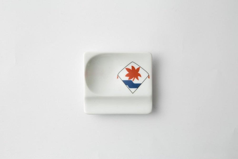 波佐見焼 重宝皿 長崎凧 水に紅葉 【アイユー】