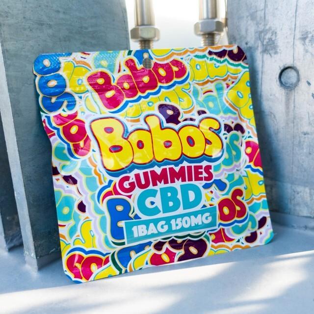 Bobos CBD Gummies(150mg・25mg × 6粒)
