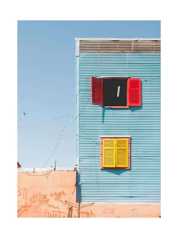フォトグラフアート La Boca Shapes, Buenos Aires