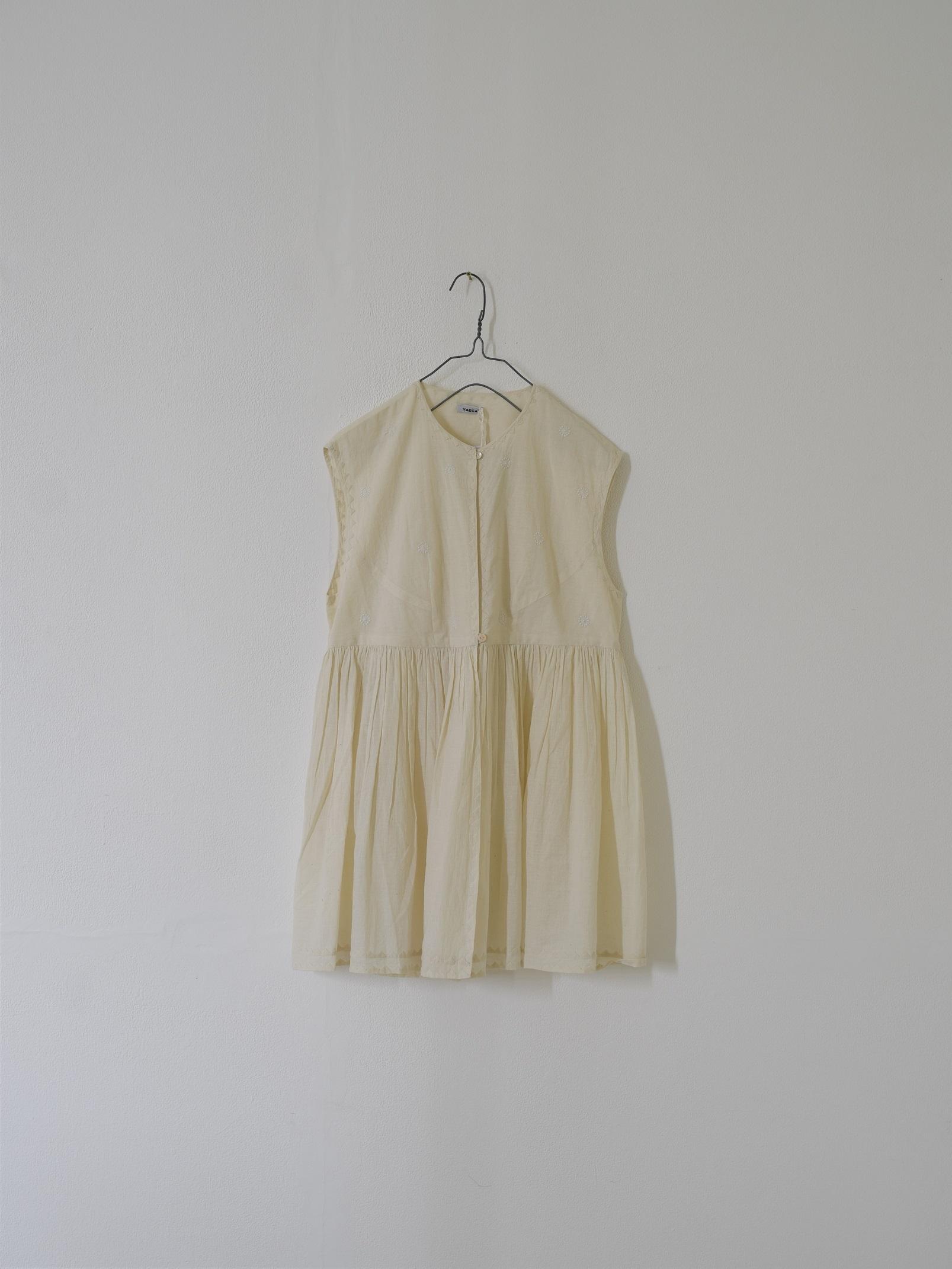 YAECA|チャイルドドレス ノースリーブ