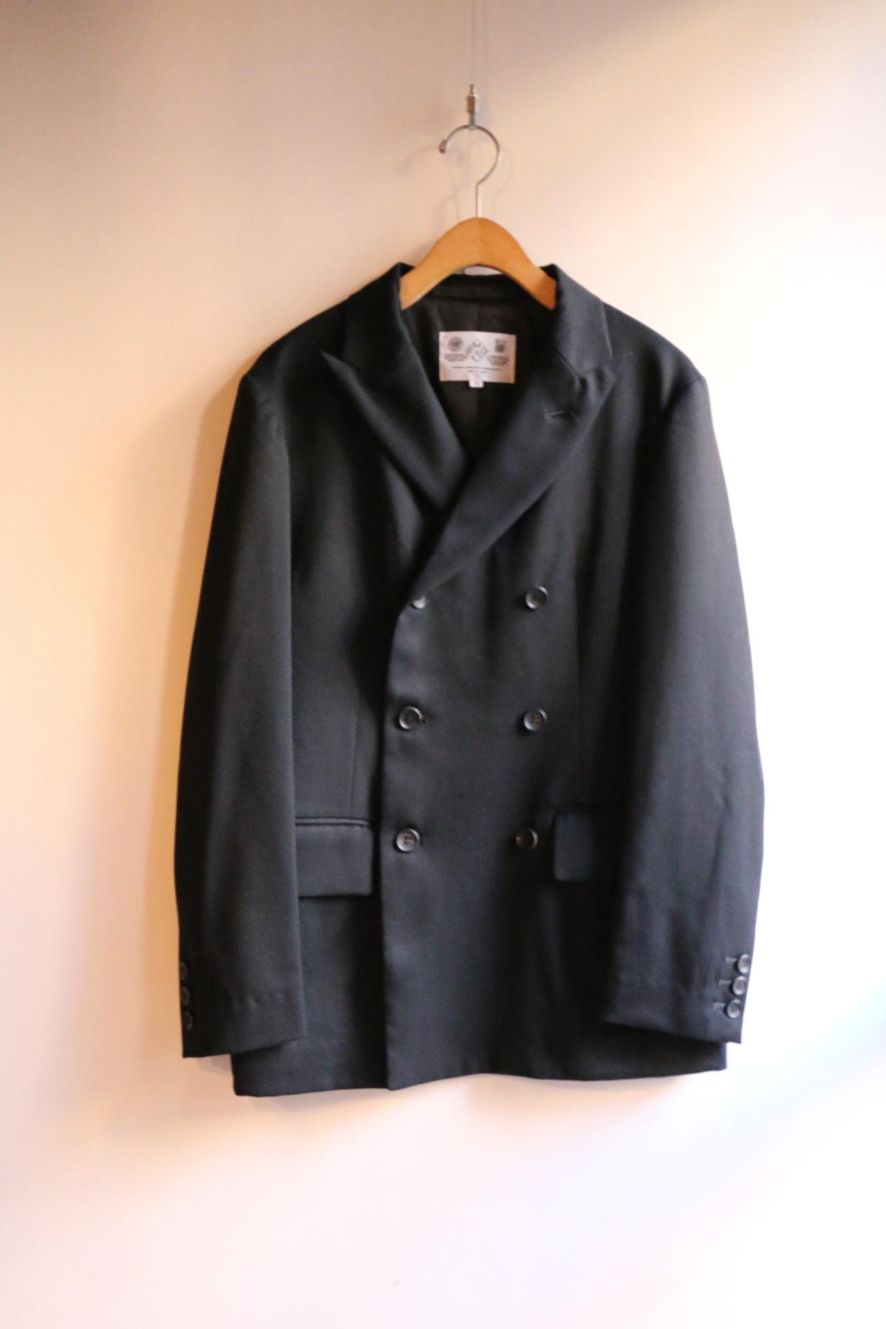 R&D.M.Co-/OLDMAN'S TAILOR W/Brested Jacket Black