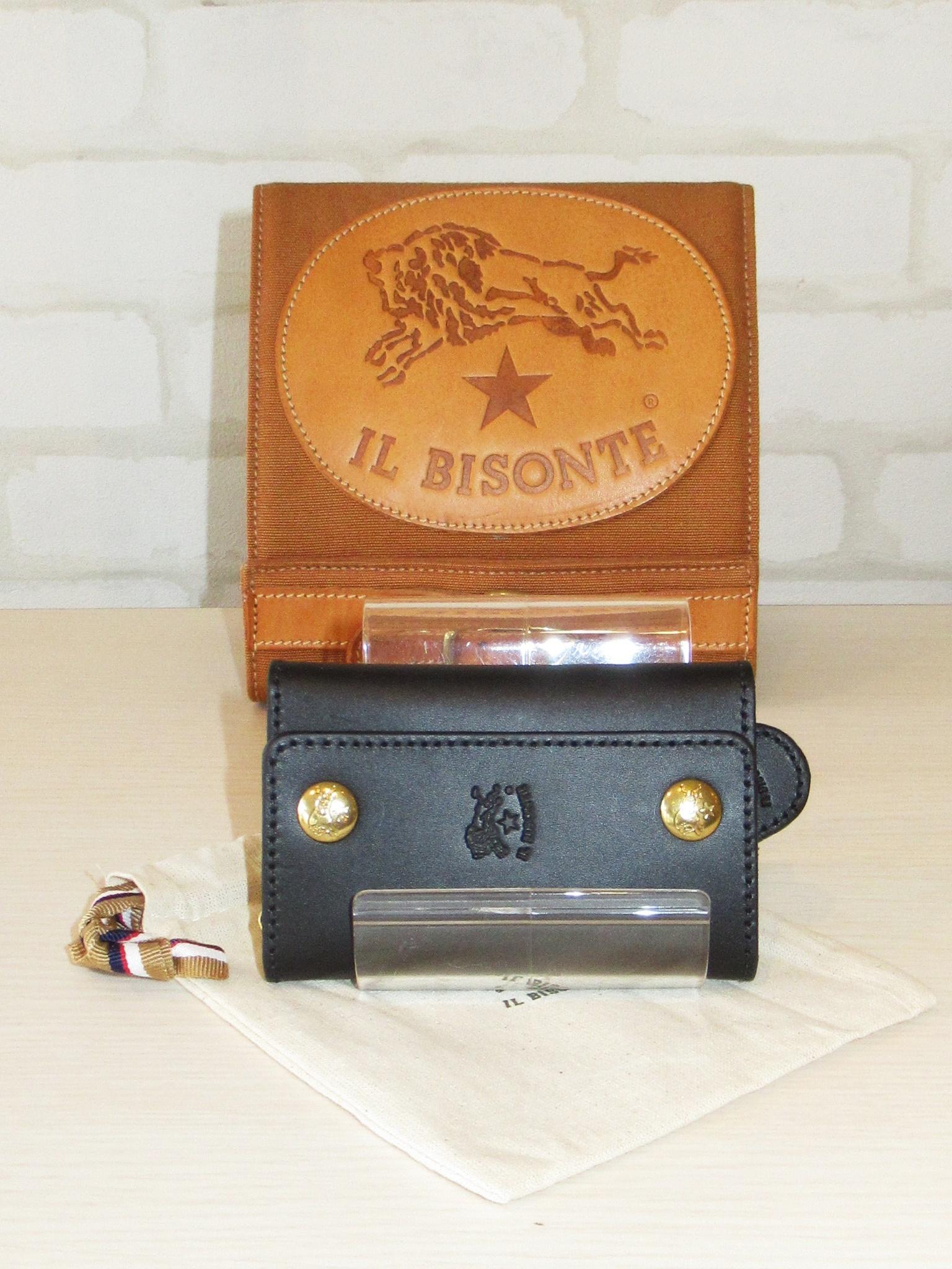 IL BISONTE(イルビゾンテ)/6連キーケース/9290(ブラック)