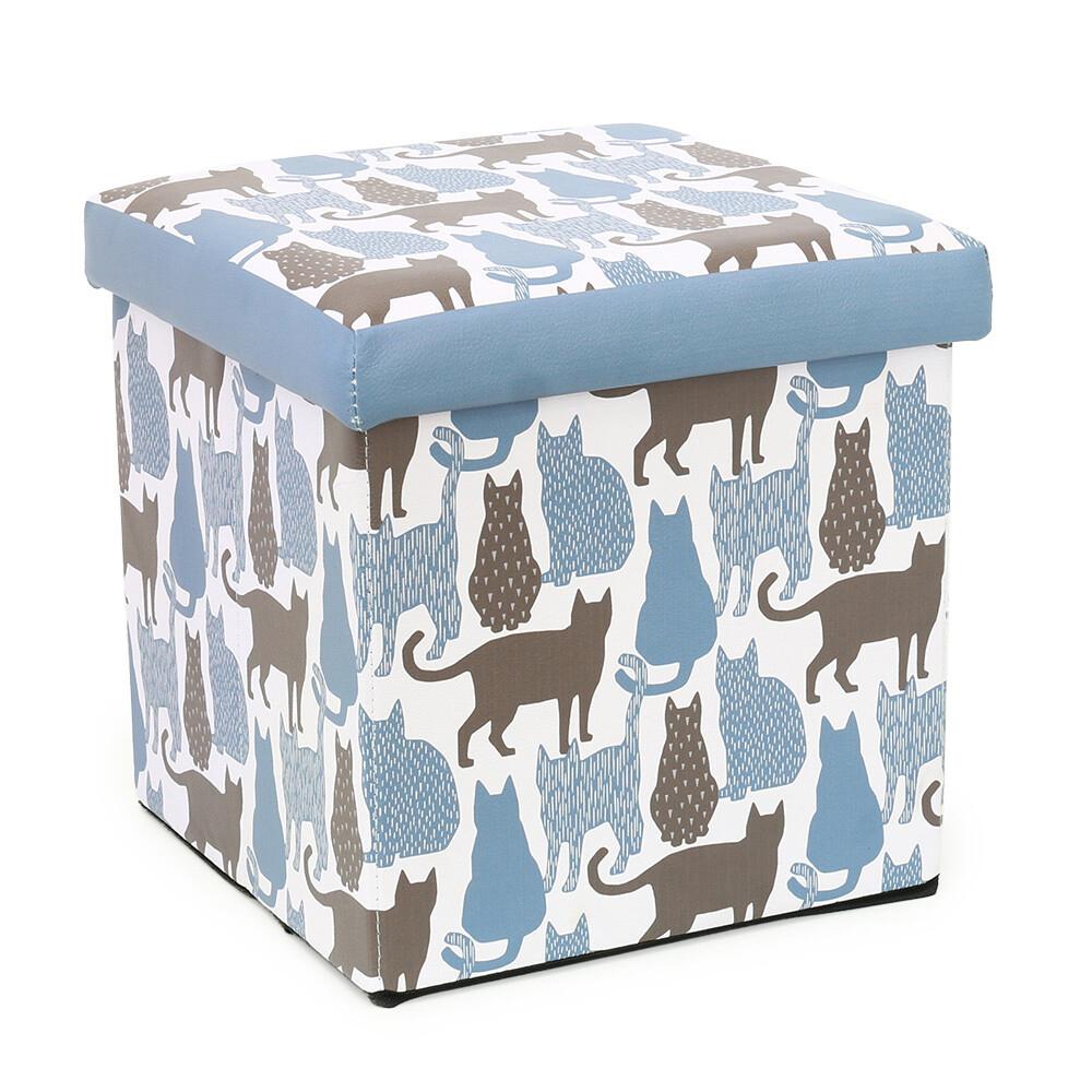 猫収納ボックススツール(ミネット)