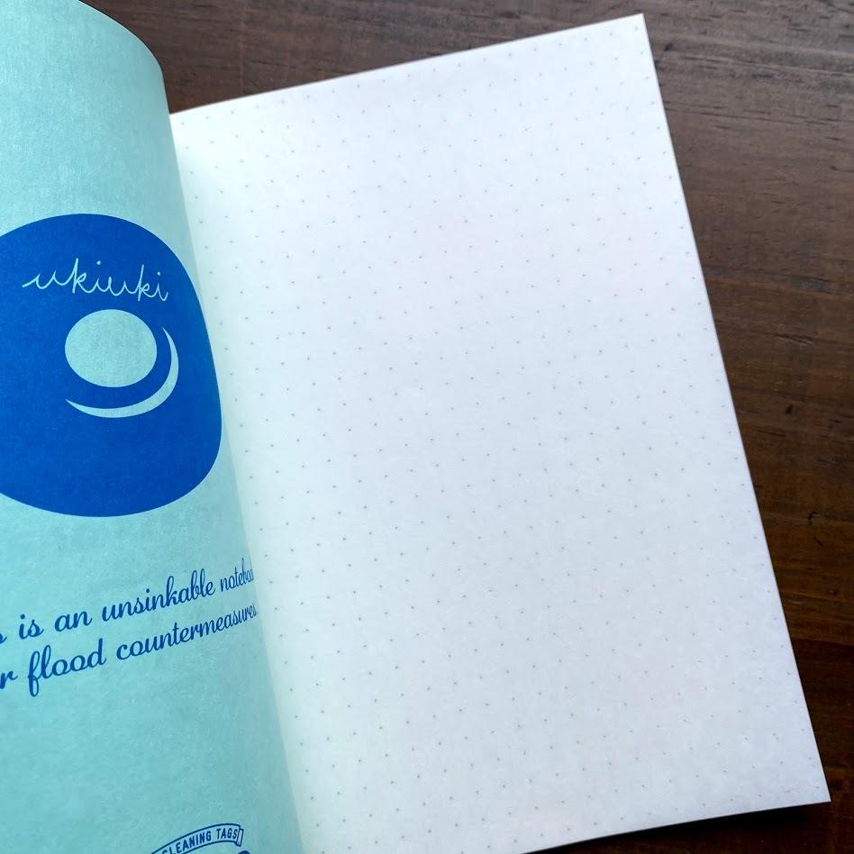 洗えるA5耐洗紙ランドリーノート(グリーン)